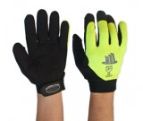 Hi-Vis Medium Duty Mechanics Glove  (7-11) - 12PK