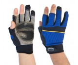 Carpenters 3-Finger Mechanics Glove (8-11) - 12PK