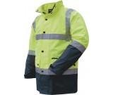Prime Mover MJ306 Hi-Vis Waterproof D/N Two Tone Jacket