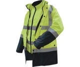 Prime Mover MJ881 Waterproof Two Tone 4-in-1 Jacket