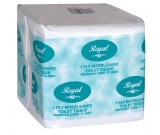 Regal Interleaved Toilet Paper 1ply Ctn 400 sheets x 45 packs