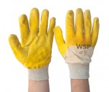 Yellow Latex Palm Coated Glass Gripper - 12PK