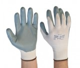 TOP-FITT Foam Nylon wth Nitrile Palm Glove (8-11) - 12PK