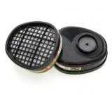 ABEK1 Filter Cartridges for Prochoice HMTPM Twin Half Mask. (Pair)