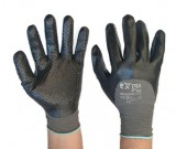 Nitrile HCT ExtraFlex Dotted Palm Glove (7-11) - 12PK