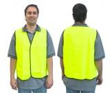 Hi-Vis Lime Safety Vest - Day Use (M-XXXL) Ctn Qty: 50