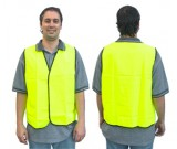 Hi-Vis Lime Safety Vest - Day Use (M-XXXL)