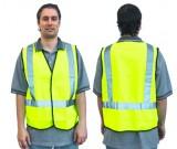 Hi-Vis Lime Sfty Vest - D/N Use (M-XXXL) Ctn Qty: 50