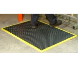 Bubble Mat Anti-fatigue With Yellow Border 0.9m x 0.6m