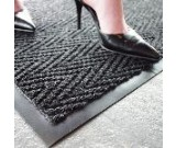 Super Chevron High Traffic Entrance Mat 0.9m x 1.5m