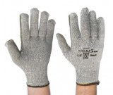 Grey TAEKI5 Pln Knt, Unctd Ht Res Grey Glove (8-10)  - 12PK