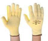 Grey Taeki 5 Pln Kntd, Unctd Ht Res Ylw Glove (8-10) -12PK