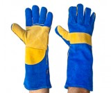 Blue & Gold Superior Welders 40cm Gloves - 12PK