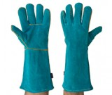 Green Left Hand Welders 40cm Gloves - 12PK