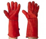 Premium Red Welders 40cm Gloves - 12PK