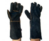 Black & Gold Welders 40cm Glove - 12PK